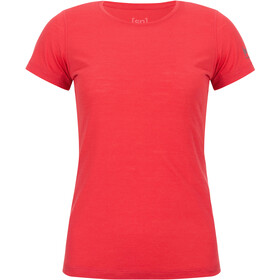 super.natural Base Tee 140 Dames, clove red